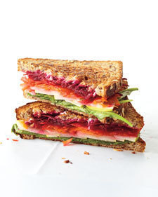Cheese and Vegetable Sandwich of Christine Meyer - Recipefy