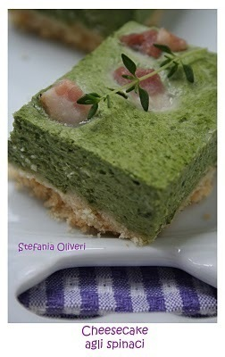 Cheesecake agli spinaci e cheesecake agli asparagi of Daniele - Recipefy