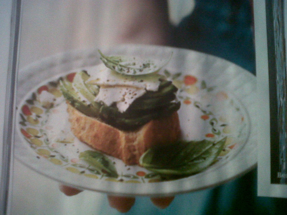 Avocado and Feta on Toast of Forbidden - Recipefy
