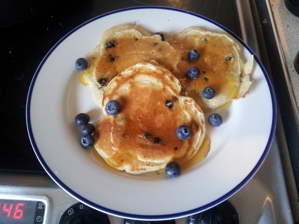 American Blueberry Pancakes of Sonic Sophie - Recipefy