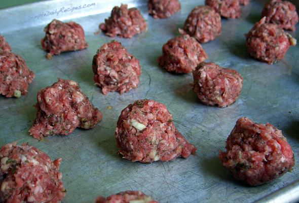 Meatballs (for Bolgenese) of Mario De-Cristofano - Recipefy