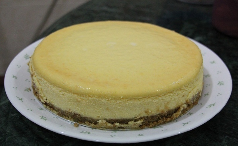bad ass American Vanilla Cheesecake of Mario De-Cristofano - Recipefy