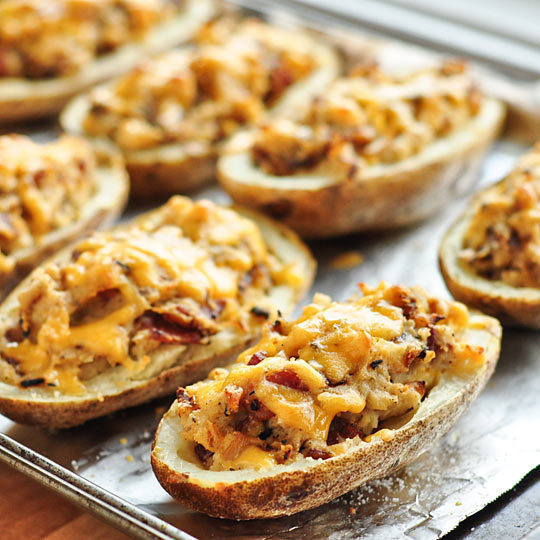 turkey Bacon-Cheddar Twice-Baked Potatoes of Azzrinna Kadri - Recipefy