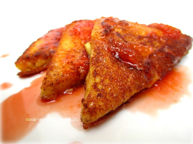 Orange French toast of Inés De Suárez - Recipefy