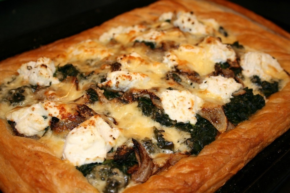 Spinach and Ricotta Tart of Sarah Holmes - Recipefy