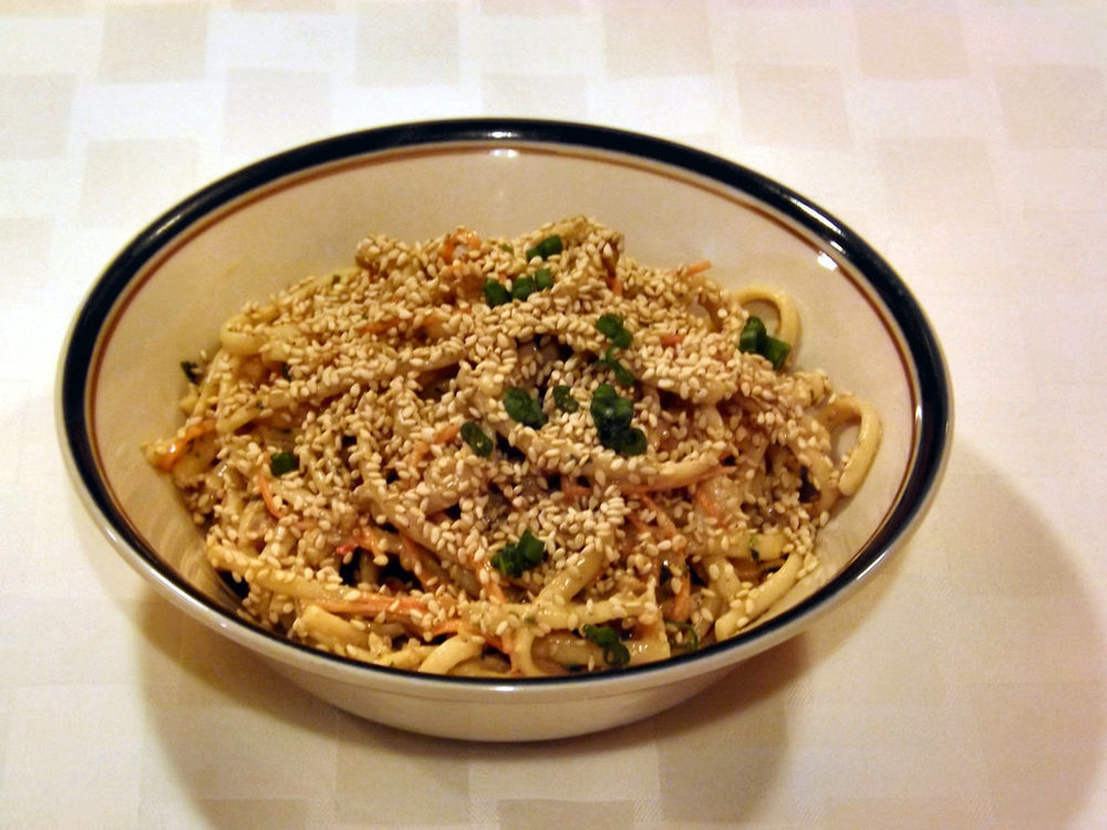 Cold Peanut Sesame Noodles of Ninjangulo - Recipefy