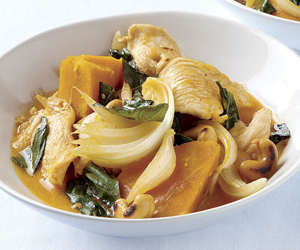 Curried chicken stew with Kabocha squash of Erin - Recipefy