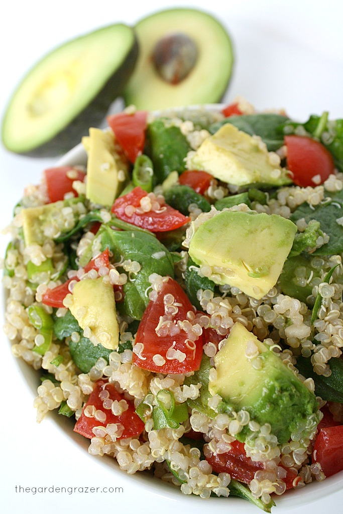Eng_Quinoa Avocado Spinach Power Salad of BarboraBH - Recipefy