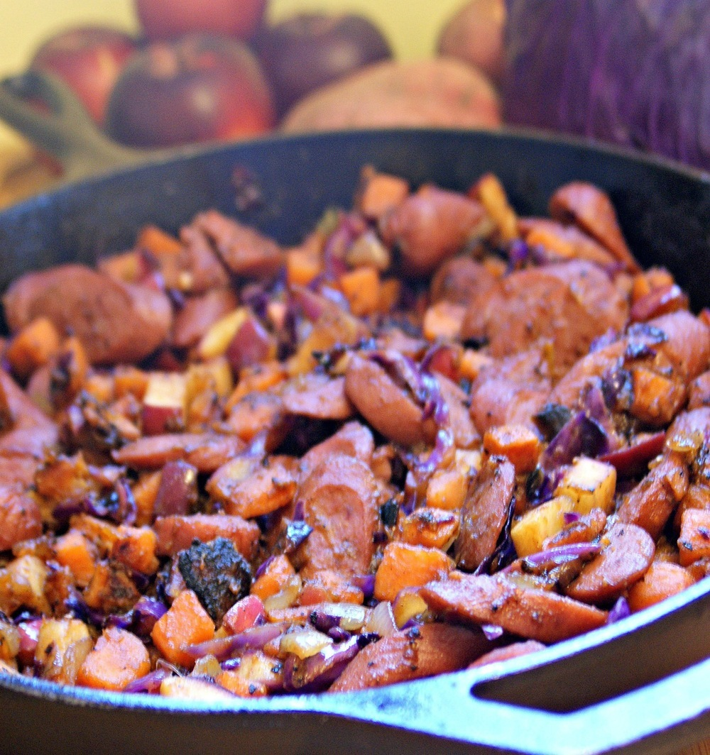 Scott's Sweet Potato & Sausage Hash of Sara Meyer - Recipefy