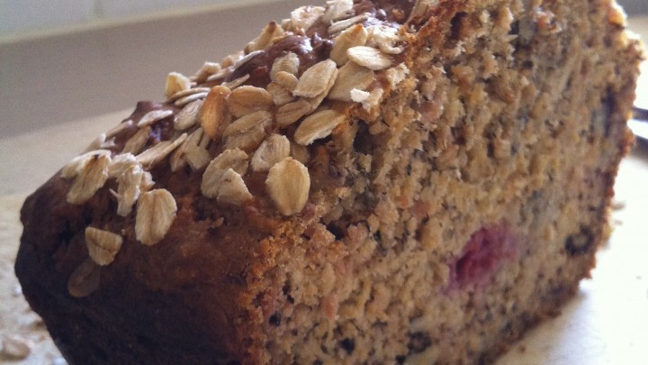 Banana Apple and Raspberry Loaf of Sweeter Life Club - Recipefy