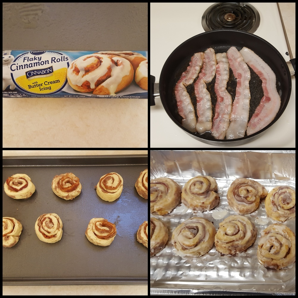 Bacon Cinnamon Buns of Rachael - Recipefy