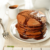 Gingerbread-pancakes
