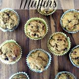 Zucchini-banana-chocolate-chip-muffins