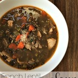 French-lentil-chicken-soup