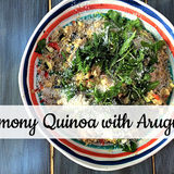 Lemony-quinoa-with-arugula