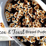 Cocoa-and-toast-bread-pudding