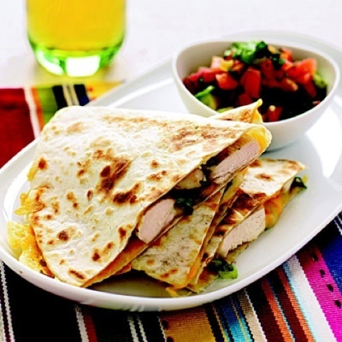 Fancy quesadillas of Courtney Glantz - Recipefy