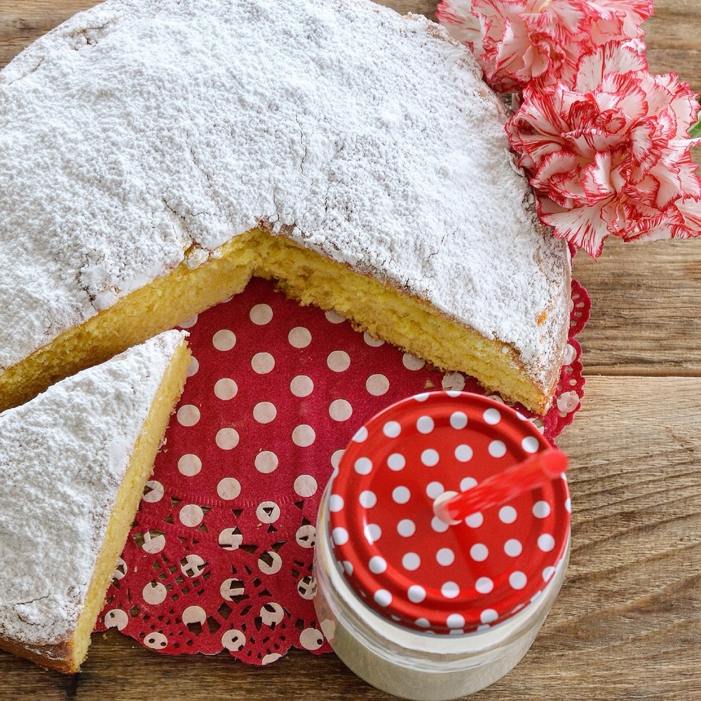 Torta al latte caldo of Eleonora  Michielan - Recipefy