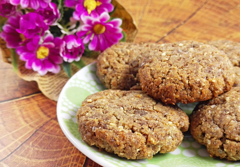 Crispy Flourless Flax Cookies (Vegan And Gluten-Free) of MyHealthyDessert - Recipefy