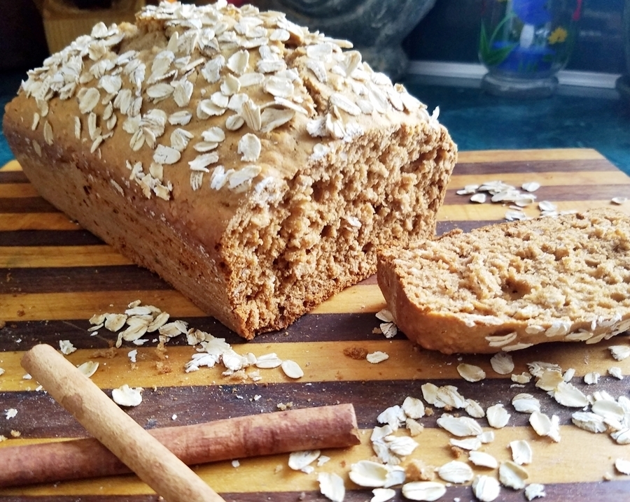 Oatmeal Honey Cinnamon Quick Bread of cleanfreshcuisine - Recipefy