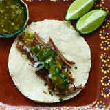 Shredded-beef-tacos-with-salsa-verde