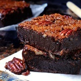 Caramel-pecan-brownies