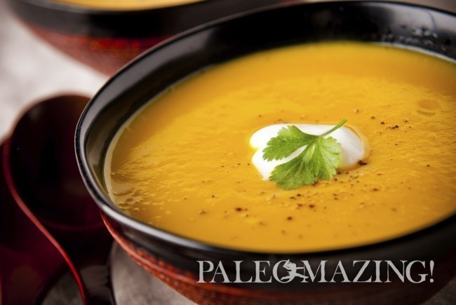 Paleo Bacon Butternut Squash Soup of Tina Turbin - Recipefy