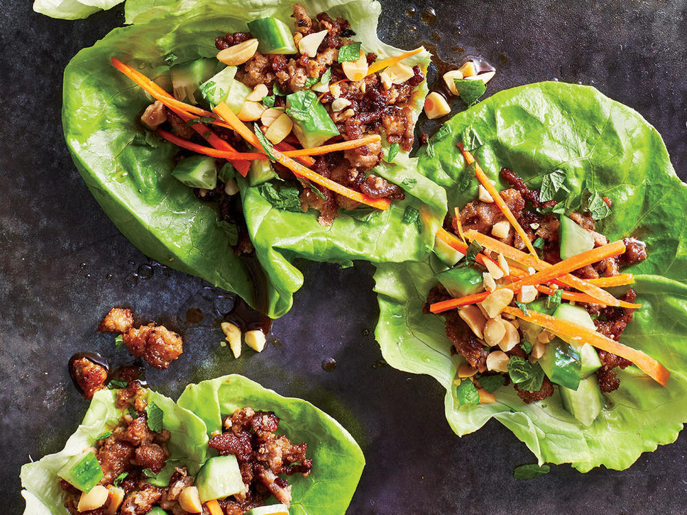 Thai Turkey Lettuce Cups of Sara Meyer - Recipefy