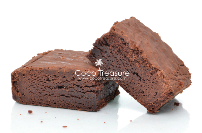 The BEST Coconut Flour Brownies of Coco Treasure Organics - Recipefy