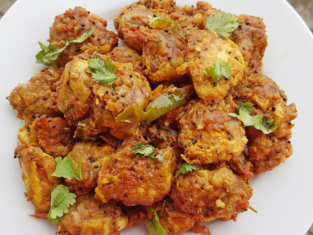 Mutton Brain Recipe  of Mithra - Recipefy
