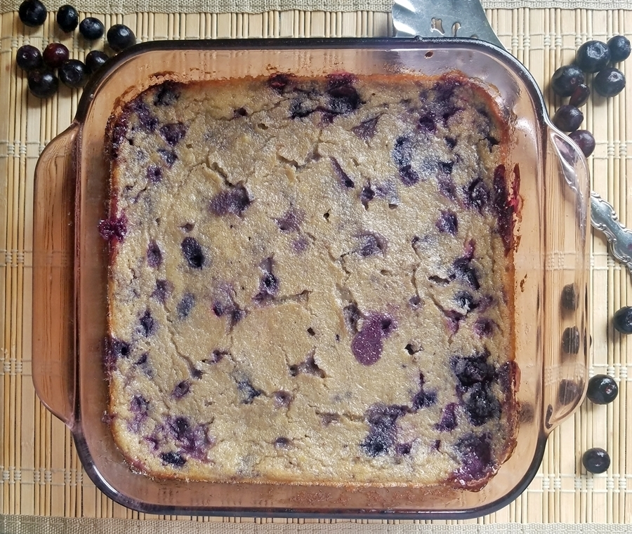 Blueberry Spoon Bread of cleanfreshcuisine - Recipefy