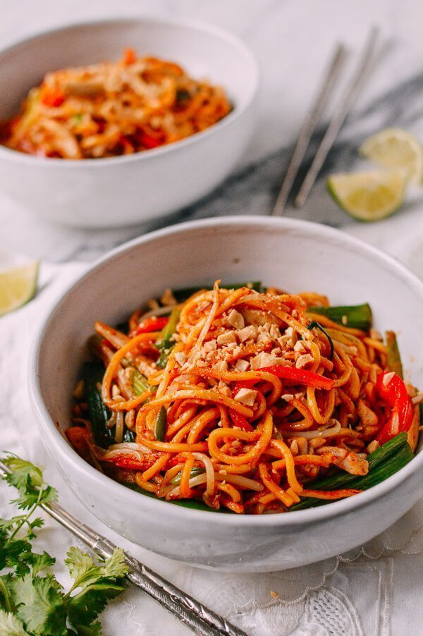RED CURRY NOODLES WITH CHICKEN of michelle - Recipefy