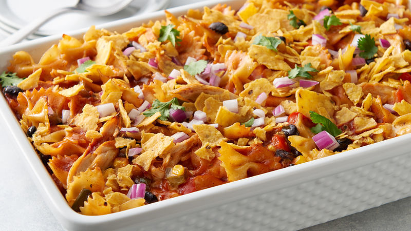 Cheesy Southwest Chicken and Pasta Casserole of Schalene Dagutis - Recipefy