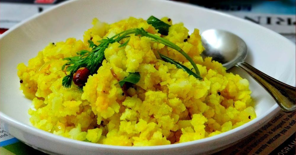 Onion Poha Recipe of Mithra - Recipefy