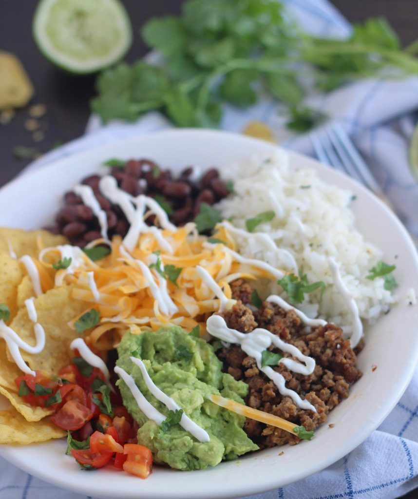 Beef Bowlrito of Kelly Barton - Recipefy