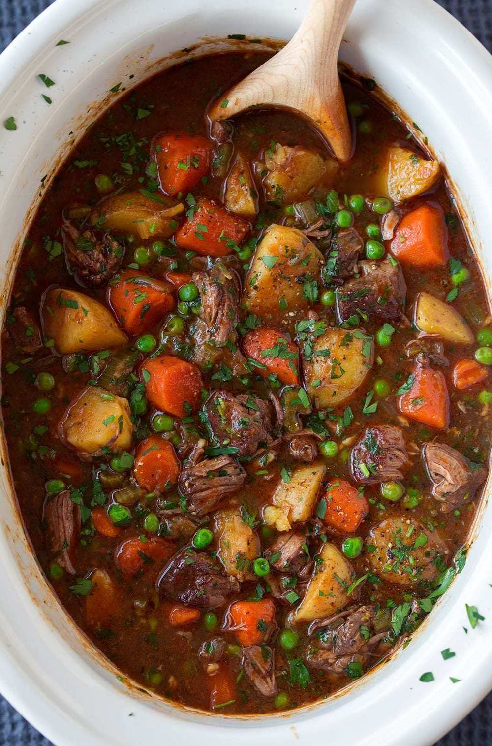 Slow Cooker Beef Stew of Kelly Barton - Recipefy