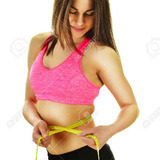 36061872-sexy-young-woman-measuring-herself-weight-loss-